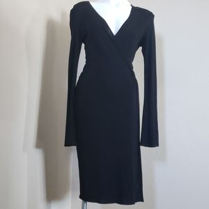 Laundry by Shelly Segal black dress